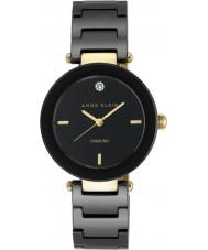 Anne Klein AK-N1018BKBK レディースアリス時計