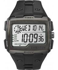 Timex TW4B02500 メンズ遠征デジタルショック黒いクロノ腕時計