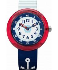 Flik Flak FBNP090 女の子のマトローズ腕時計